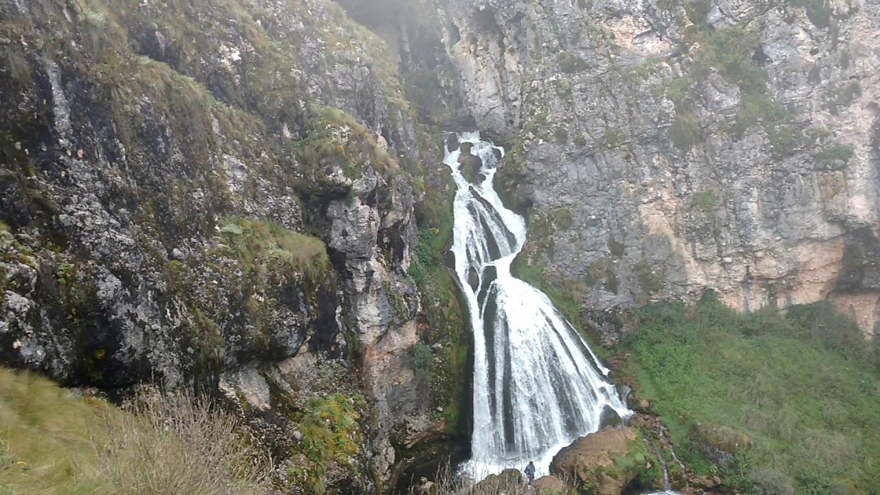Cascada La Novia recién descubierta en Perú