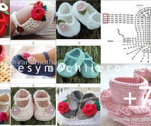 Te enseñamos a hacer zapatitos a crochet + CURSOS GRATUITOS