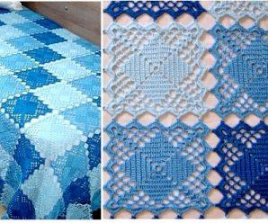 Como Tejer una Sabana a Crochet paso a paso+ Patrones