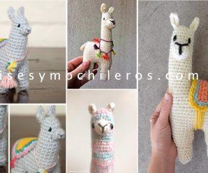 Como Hacer una LLAMA a Crochet AMIGURUMI Paso a Paso