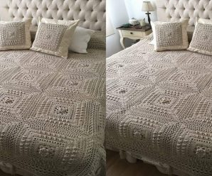 Como hacer una sabana/manta a crochet CURSO ONLINE GRATIS