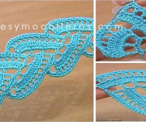 El mas Hermoso Motivo a Crochet ¡Paso a paso!
