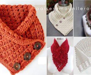 CURSO GRATIS: Aprende a hacer cuellos a Crochet Paso a paso!