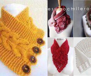 Como hacer CUELLOS a Crochet Paso a paso + PATRONES