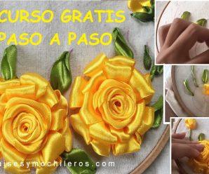 Aprende a Bordar Paso a Paso CON NUEVA TECNICA 2019 Curso Online