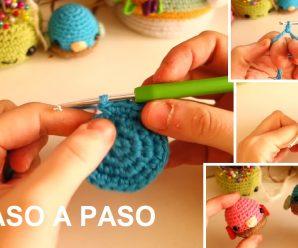 Como Hacer ANILLO MÁGICO, AUMENTOS Y DISMINUCIONES a Crochet