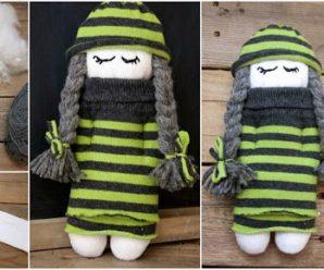 Aprende cómo hacer una hermosa muñeca con trenzas sin moldes