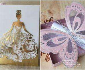 11 Diseños hermosos para hacer tarjetas de invitación para 15 años