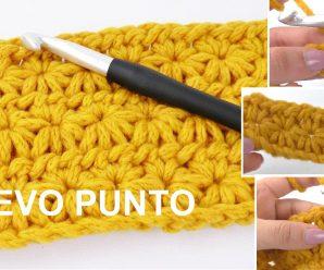 Te enseñamos a tejer con este PRECIOSO punto a CROCHET Gratis