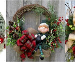 Aprende paso a paso cómo hacer coronas navideñas con ramas