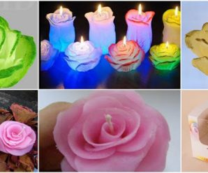 Aprende cómo hacer rosas reciclando velas derretidas