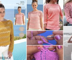 TE enseñamos a tejer blusas preciosas a CROCHET Facilmente