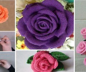 Aprende a tejer Flores a Crochet facilmente