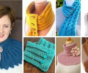 CUELLO a Crochet PASO A PASO