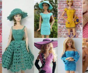 Vestidos hermosos de Barbie PASO A PASO