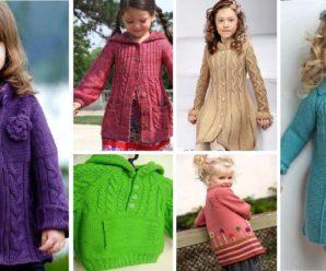 Aprende a tejer UN HERMOSO CARDIGAN para niña a crochet