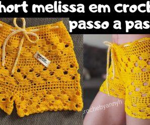 Short Melissa a Crochet Paso a Paso
