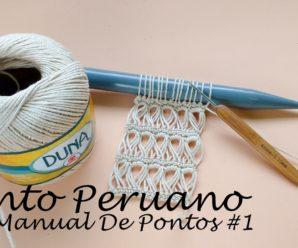 Aprende a Tejer Punto PERUANO a Crochet