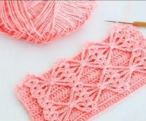 Preciosa Puntada a Crochet + Patron