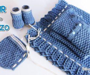 Precioso Ajuar crochet a explicado paso a paso