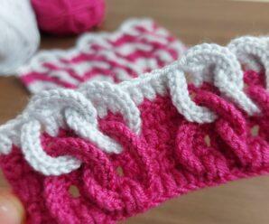 Punto Puff o Globos de Colores a Crochet